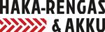 Haka-rengas ja akku Logo